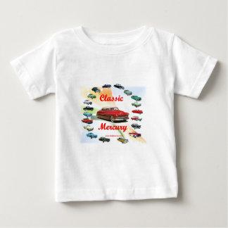 Classic_Mercury_Red ベビーTシャツ