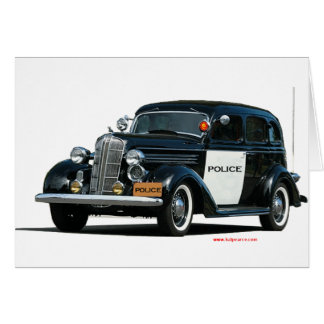 Classic_Old_Police_Car カード