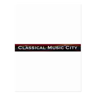 ClassicalMusicCity.comのスワッグ! ポストカード