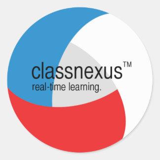 classnexusのステッカー ラウンドシール