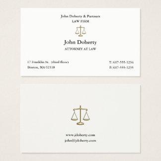 Classy Attorney at Law | Lawyer 名刺