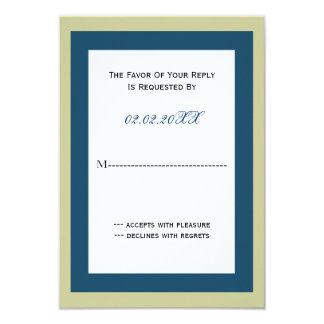classy Corporate party Invitation rsvp cards カード