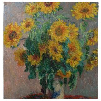 Claude Monet, Sunflower ナプキンクロス
