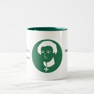 Clausewitzの兄弟のコーヒー・マグ ツートーンマグカップ
