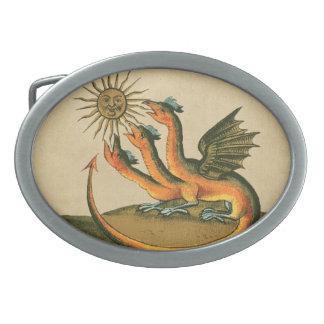 Clavis Artisの錬金術のドラゴン 卵形バックル