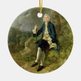 Claytonジョーンズ、c.1744-45 (キャンバスの油)氏 セラミックオーナメント