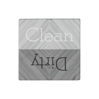Clean   Dirty Dishes Dishwasher ストーンマグネット