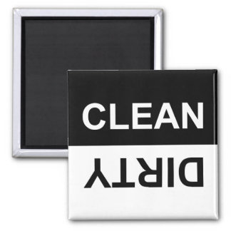 Clean or Dirty Dishwasher Magnet マグネット