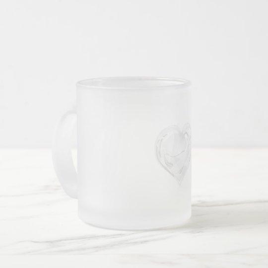 clear フロストグラスマグカップ