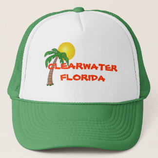 Clearwaterフロリダのヤシの木の帽子 キャップ