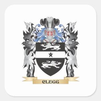 Cleggの紋章付き外衣-家紋 スクエアシール