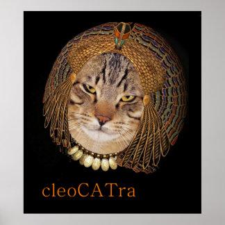 CleoCATraはCleopatraを演じます ポスター