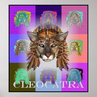 CleoCATra女王 ポスター