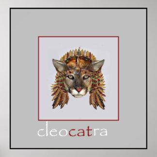 CleoCATra 3女王 ポスター