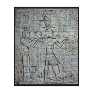 CleopatraおよびCaesarion キャンバスプリント
