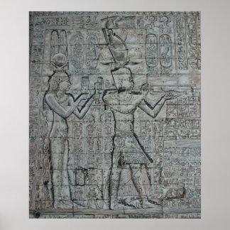 CleopatraおよびCaesarion ポスター
