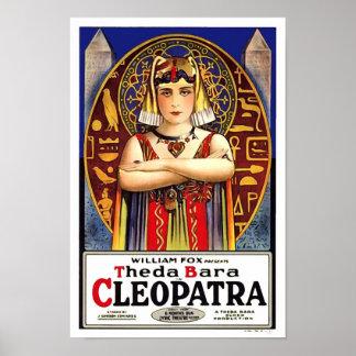 Cleopatraのヴィンテージ映画としてTheda Bara ポスター