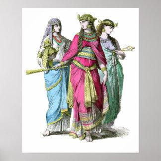 Cleopatra古代エジプトの女王 ポスター