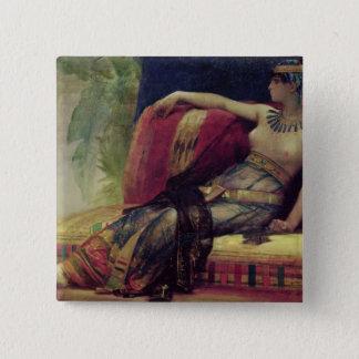 Cleopatra 5.1cm 正方形バッジ