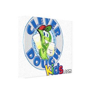 Cleverdoughは#Dのキャンバスポスターをからかいます キャンバスプリント