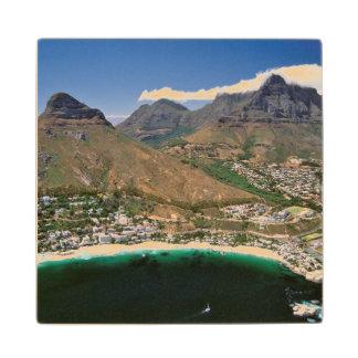 Cliftonを示す大西洋の海岸の空中写真 ウッドコースター