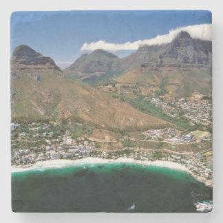 Cliftonを示す大西洋の海岸の空中写真 ストーンコースター