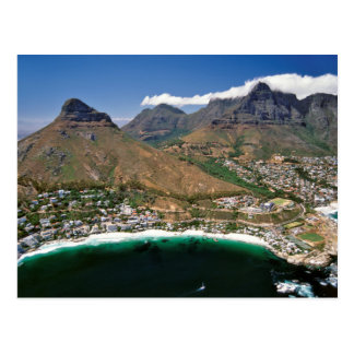 Cliftonを示す大西洋の海岸の空中写真 ポストカード
