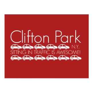 Clifton公園-交通の着席は素晴らしいです! ポストカード