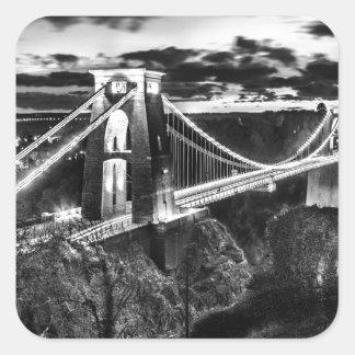 Clifton橋BW スクエアシール