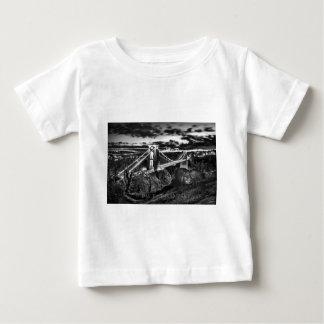 Clifton橋BW ベビーTシャツ