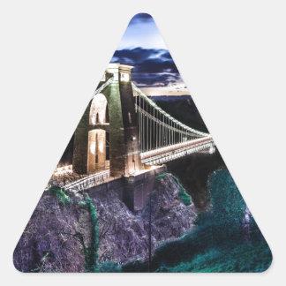 Clifton橋CL 三角形シール
