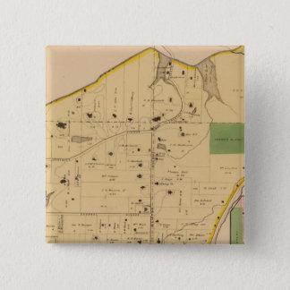 Clifton、オハイオ州 5.1cm 正方形バッジ