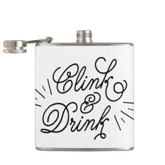 Clink及び飲み物 フラスク
