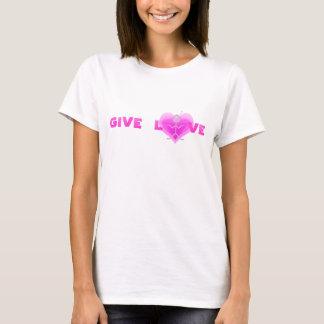 """Clio """"愛"""" Tシャツ与えて下さい Tシャツ"""