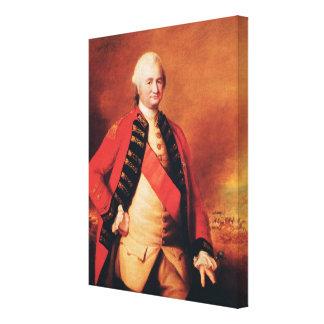 Clive、c.1773ロバートCliveの第1男爵 キャンバスプリント