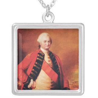 Clive、c.1773ロバートCliveの第1男爵 シルバープレートネックレス