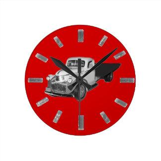 Clockの1941年- 1942年シボレーのトラック、Chev、Chevyの ラウンド壁時計