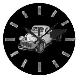 Clockの1941年- 1942年シボレーのトラック、Chev、Chevyの ラージ壁時計