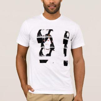 Close_Upsの格子- Tシャツ