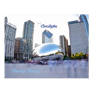 Cloudgate -シカゴ、イリノイ ポストカード