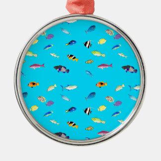 Clownfishおよび独特の味の分散 メタルオーナメント