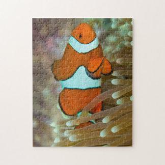 Clownfishかわいいグレート・バリア・リーフの珊瑚海 ジグソーパズル