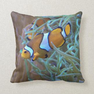 Clownfishの写真の装飾用クッション クッション