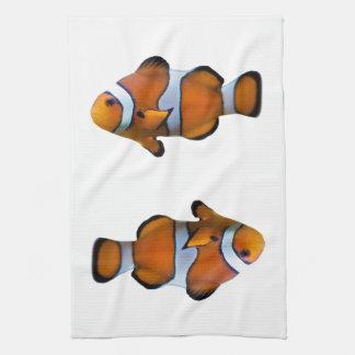 Clownfishの台所タオル(色を選んで下さい) キッチンタオル