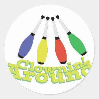 Clownin ラウンドシール