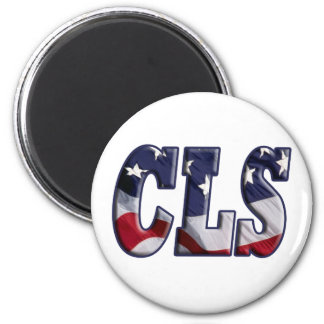 CLSの愛国者米国の旗-臨床実験室の科学者 マグネット