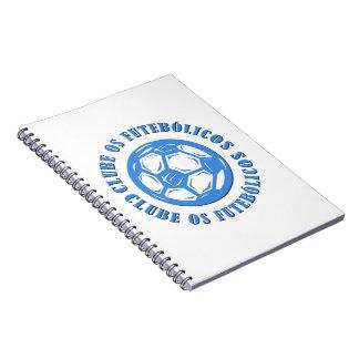 Clube os Futebolicos ノートブック