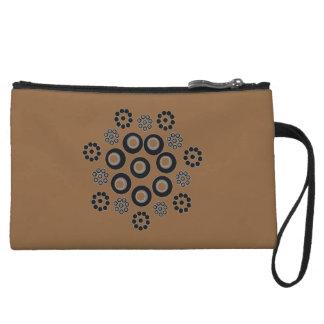 Clutch Bag brown black Custom クラッチ