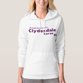 Clydesdaleの馬 パーカ