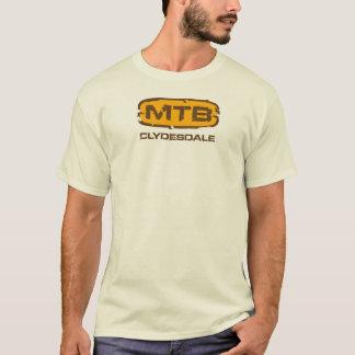 Clydesdale MTBの動揺してなティー Tシャツ